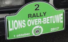 Tweede Rally 1 oktober 2017